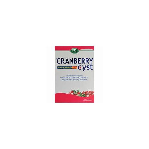 cranberry cyst capsulas
