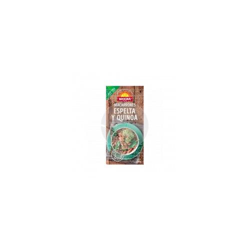 macarrones de espelta y quinoa