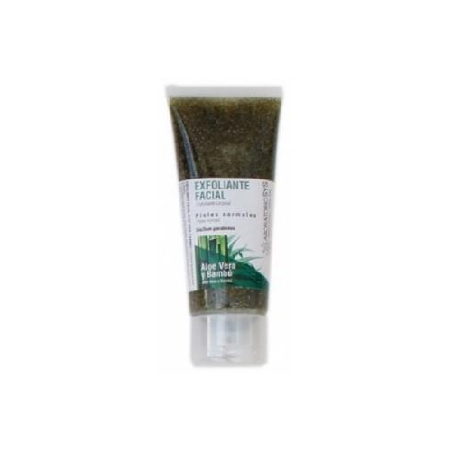 exfoliante facial aloe y bambu