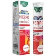 hierro y vitamina C efervescentes