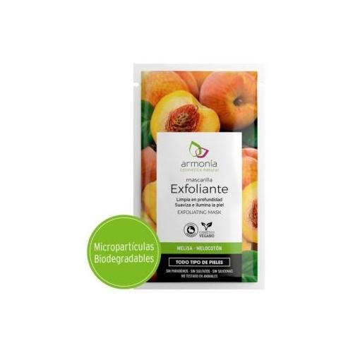 exfoliante melisa y melocoton