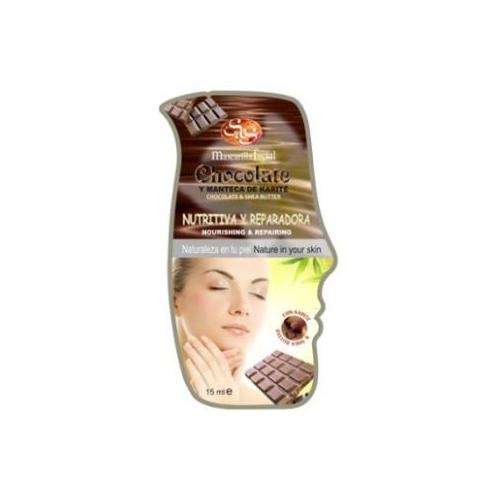mascarilla chocolate