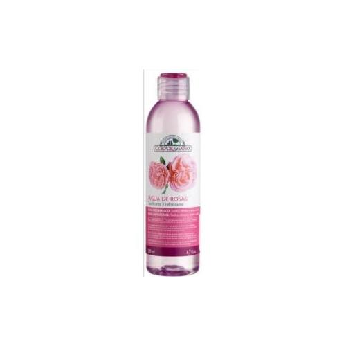 tonico de agua de rosas de damasco