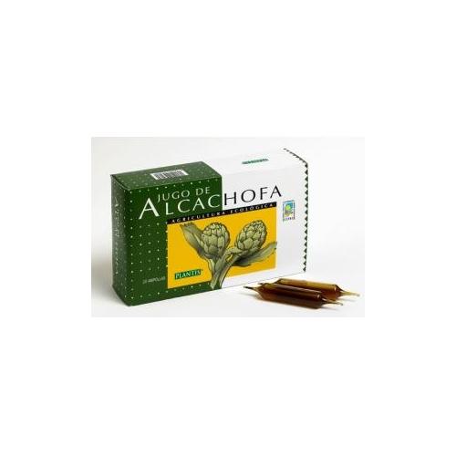 alcachofa en viales