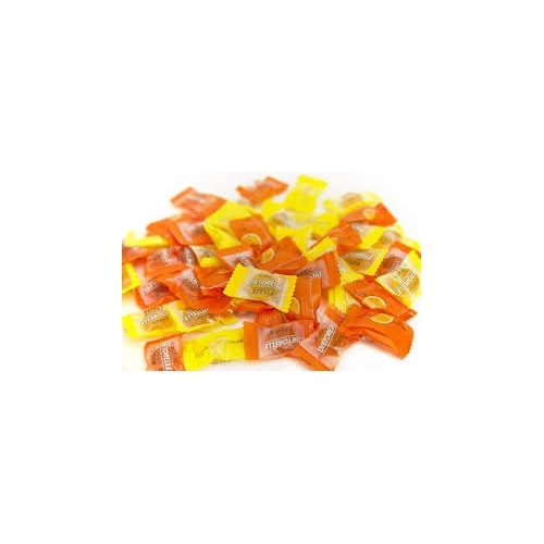 caramelos naranja y limon