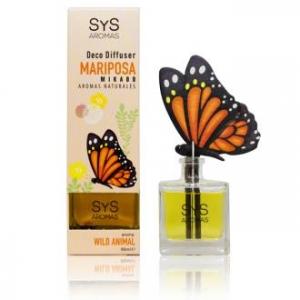 ambientador difusor mariposa